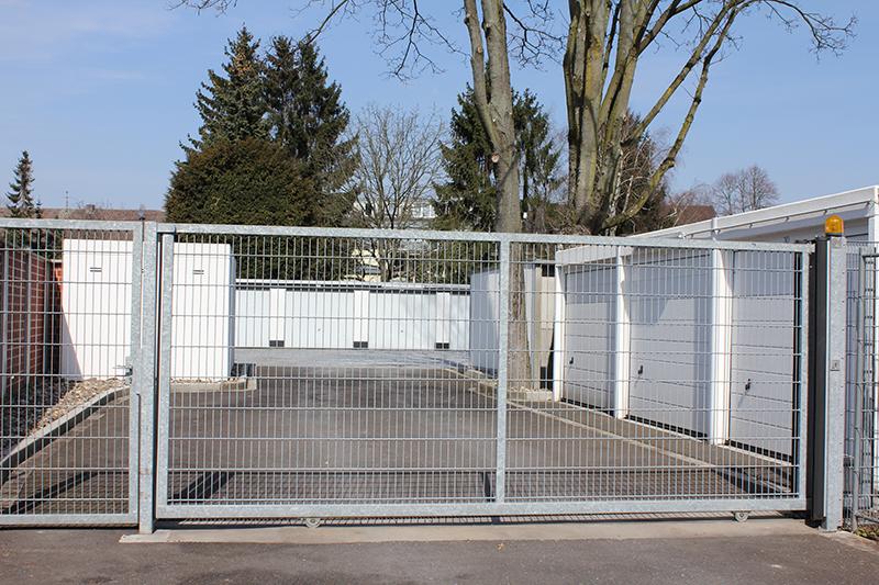 Schiebetore teleskoptore josef breitmeyer zaunbau for Schiebetor scheune selber bauen